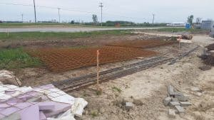 Construction Staking for a Dollar General in Celina, Ohio Brumbaugh Engineering & Surveying, LLC