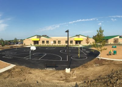 Kleptz Early Learning Center, Englewood OH, Brumbaugh Engineering & Surveying, LLC, Construction Layout, Construction Staking, Civil Engineering