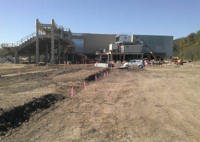 Belterra Park Gaming, Cincinnati, OH, Brumbaugh Engineering & Surveying, LLC, Construction Layout, Construction Surveying, Civil Engineering, Dayton, OH