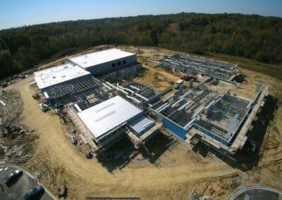 Ballyshannon Middle School, Union, KY Brumbaugh Engineering & Surveying, LLC, Dayton, OH, Construction Staking ,Construction Layout, Civil Engineering