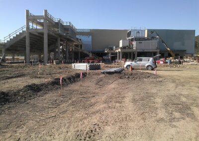 Belterra Park Gaming Cincinnati, OH Brumbaugh Engineering & Surveying, LLC, Dayton OH, Construction Layout, Construction Staking, Civil Engineering