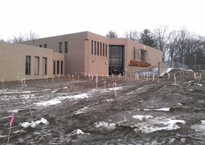 Clark State Springfield, OH, Brumbaugh Engineering & Surveying, LLC, Construction Layout, Construction Staking, Dayton, OH