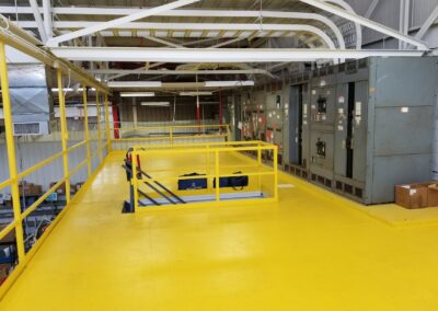 Parker-Hannifin OHSA Certification Eaton, OH Brumbaugh Engineering & Surveying, LLC, Dayton OH , Construction Layout, Construction Staking, Civil Engineering