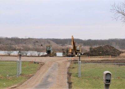 Rip Rap Road, Elevation Certificate, Flood Study, Huber Heights, OH, Brumbaugh Engineering & Surveying, Construction Layout, Construction Staking, Civil Engineering, Dayton OH