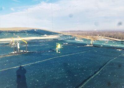 Landfil Dayton OH ,Brumbaugh Engineering & Surveying, LLC, Construction Layout, Construction Surveying, Civil Engineering