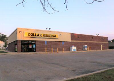 Dollar General, Englewood, OH Brumbaugh Engineering & Surveying, LLC, Dayton, OH, Construction Layout, Construction Staking, Civil Engineering