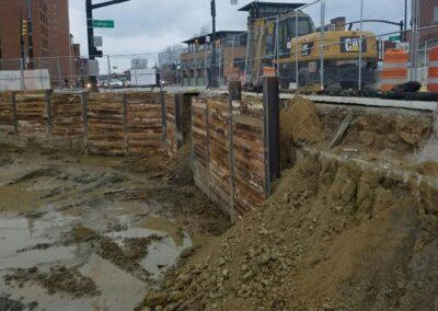 The Wilson Shroing Design Columbus, OH ,Brumbaugh Engineering & Surveying, LLC, Construction Staking, Construction Layout, Civil Engineering