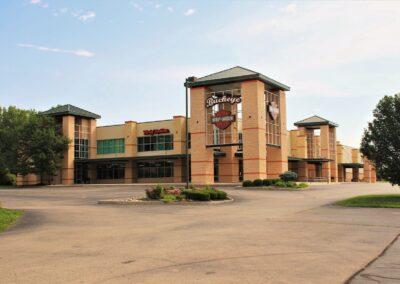Harley Davidson ,Dayton, OH ,Brumbaugh Engineering & Surveying, LLC, Construction Layout, Construction Staking, Civil Engineering