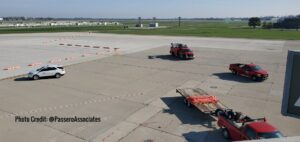 Dayton International Airport Terminal Apron Phase 3 Brumbaugh Engineering & Surveying, LLC Topographical Survey Brumbaugh Engineering & Surveying, LLC Construction Layout, Civil Engineering ,Construction Staking, Dayton, OH