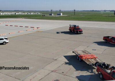 Dayton International Airport Terminal Apron Phase 3 Brumbaugh Engineering & Surveying, LLC Topographical Survey Brumbaugh Engineering & Surveying, LLC Construction Layout, Civil Engineering ,Construction Staking, Dayton, OH